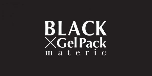 logo BLACK GelPack Materic
